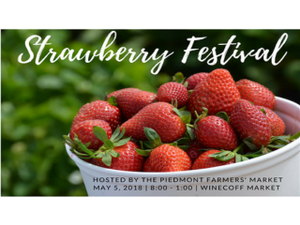 Cabarrus County Strawberry Festival - start May 05 2018 0900AM