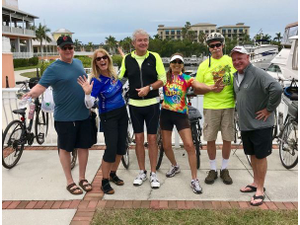 Southwest Florida Adventure Group at Punta Gordas Pedal and Play event in March 2018 Photo courtesy of Southwest Florida Adventure Group