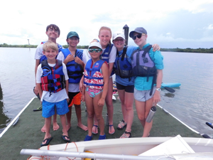 Junior Sailing Camps Session 2 - start Jul 16 2018 0800AM