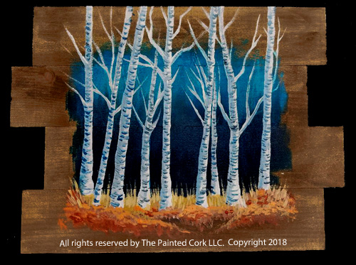 Rustic 20birches