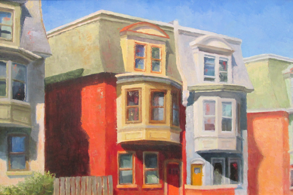 'Bays on North Clayton' by Kimberly Hoescht.