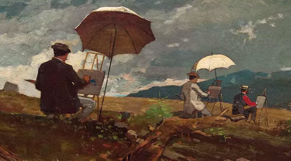 History of plein air painting