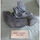 This child's shoe was found during renovation work.