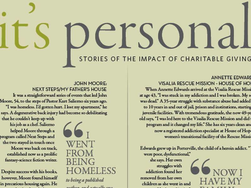 Stories of the Impact of Charitable Giving | Enjoy South Valley Living