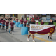The Avon Grove High School Marching Band provided the music during the parade and ceremony.