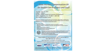 Flyer 20  20texas 20workers 20compensation 20101 20for 20health 20care 20providers 20and 20staff 202018.06.19