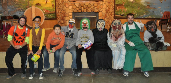 Halloween camp at camp copneconic october 25 27  282 29