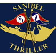 Sanibel thriller red.white logo