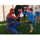 Meeting Spider-Man for the first time. (Keyra Kristoffersen/City Journals)