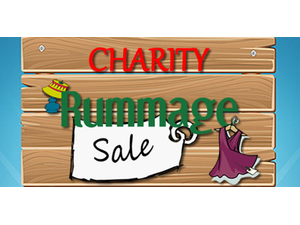 Charity Rummage Sale - start Jul 21 2018 1000AM