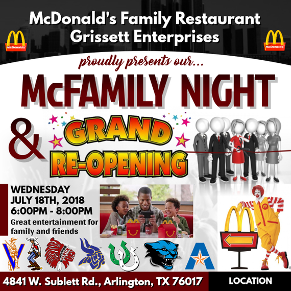 Grissett 20mcdonalds 20grand 20reopening
