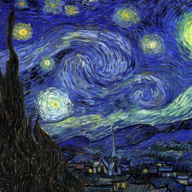 Website starry night