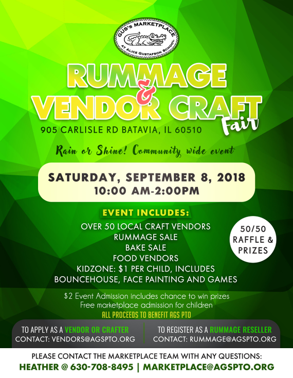 Rummagevendorcraftfairrevised