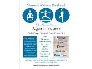 Womens Wellness Retreat 2018 - start Aug 17 2018 0300PM
