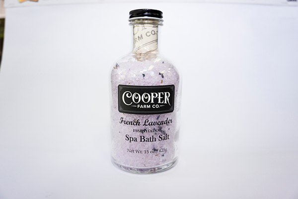 Cooper Farm Co. French Lavender Bath Salt