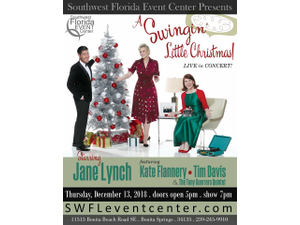 A Swingin Little Christmas with Jane Lynch - start Dec 13 2018 0500PM