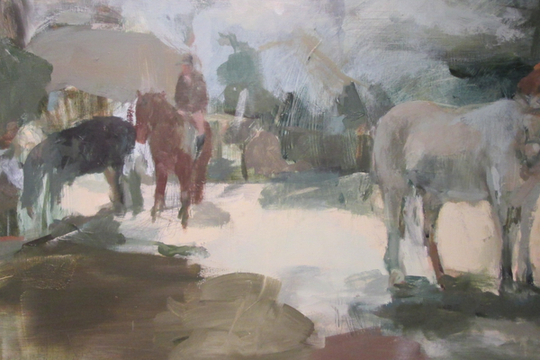 'Devon Horse Show 2' by Jenn Warpole.