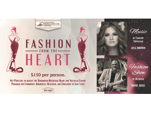 Fashion from the Heart - start Oct 13 2018 0600PM