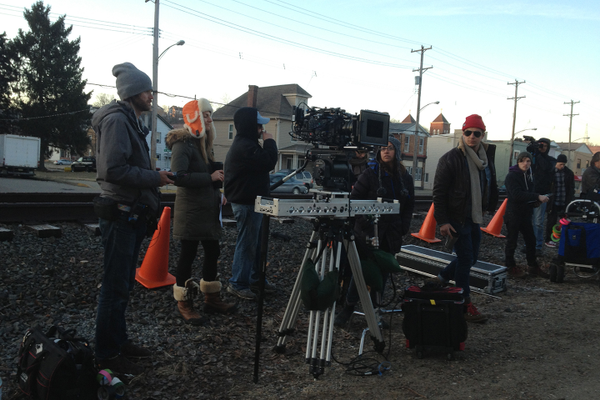 On the set of the Holidaysburg.