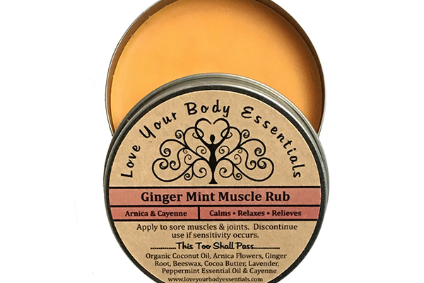 Love Your Body Essentials Ginger Mint Muscle Rub