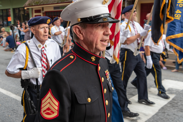 Veterans organizations were represented in the annual parade on Friday.