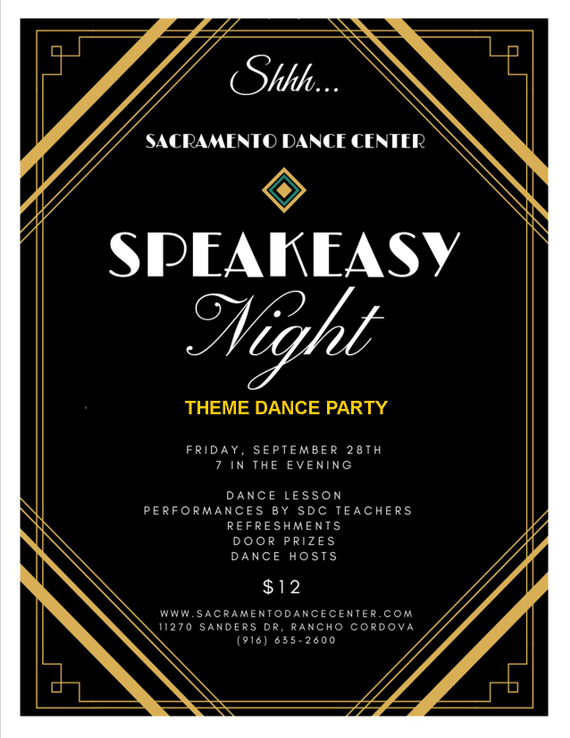 Speakeasy 20flyer
