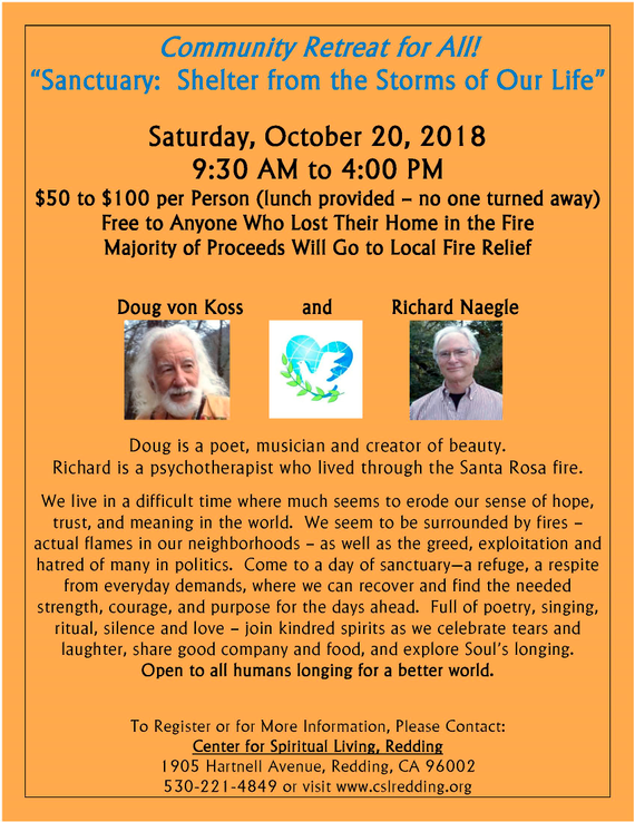 2018 10 20 20community 20retreat 20with 20doug 20von 20koss 20and 20richard 20naegle 20flyer  20version 203