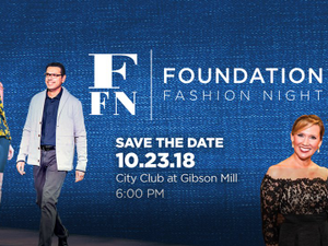 38th Annual Foundation Fashion Night - start Oct 23 2018 0600PM