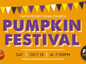 Pumpkin Festival - start Oct 13 2018 0400PM