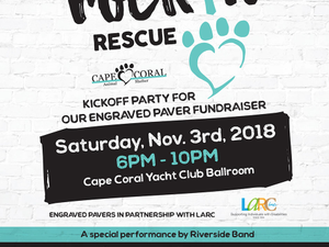 Cape Coral Animal Shelter RocknRescue - start Nov 03 2018 0600PM