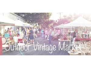 Outdoor Vintage Market - start Nov 24 2018 1000AM