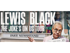 Lewis Black The Jokes On Us Tour - start Oct 19 2018 0800PM