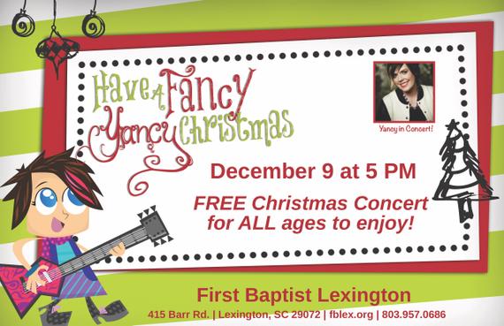 Christmas Concerts Near Me.Yancy Christmas Concert