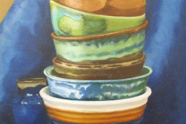 'Stack of Bowls' by Gwenn Knapp.