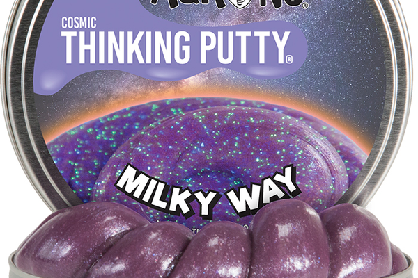 Crazy Aaron's Milky Way Cosmic Thinking Putty, $14.99