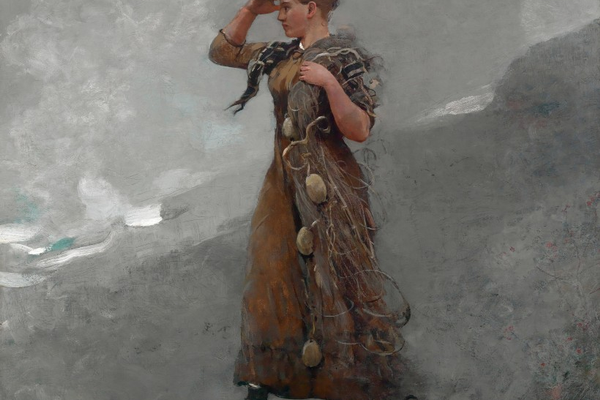 'The Fisher Girl' (1894), oil on canvas, Mead Art Museum, Amherst College.