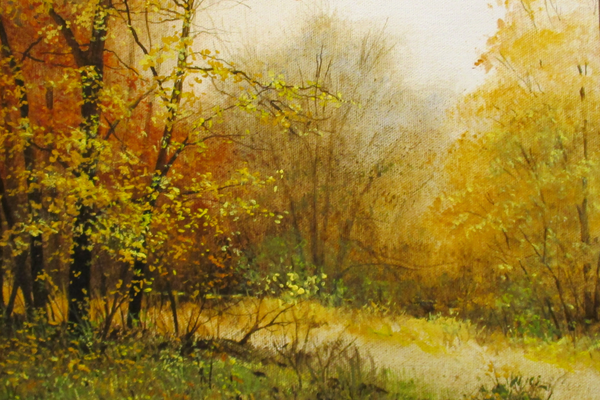 'Autumn Woods 2' by Ray Hendershot.