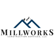 Millworks construction services white square