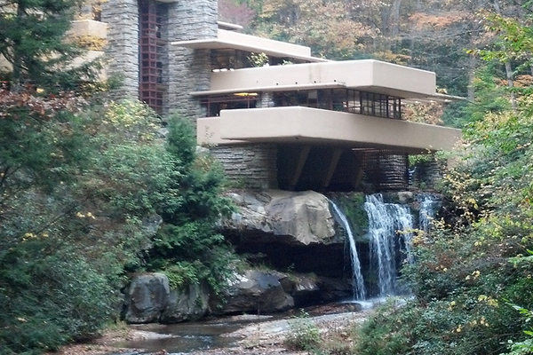 Fallingwater, photo courtesy of Lenzner Tour and Travel