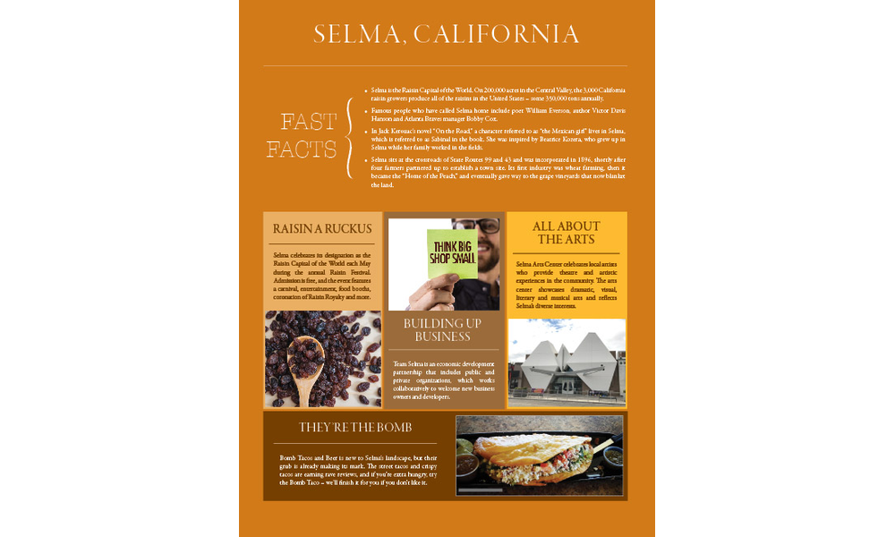 SELMA, CALIFORNIA | Enjoy South Valley Living