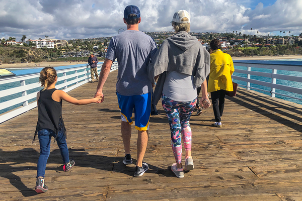 #10 - Hi, my name is Charlotte Caulfield and I am 9 years old and live in San Clemente. These pictures were from thanksgiving day and show what I love about SC. Walking with my family and enjoying the sights and sounds.