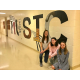 Oxford Area High School seniors create mural for music wing