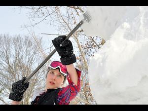 The Vermont Flurry Woodstock Snow Sculpture Festival - start Feb 15 2019 1000AM