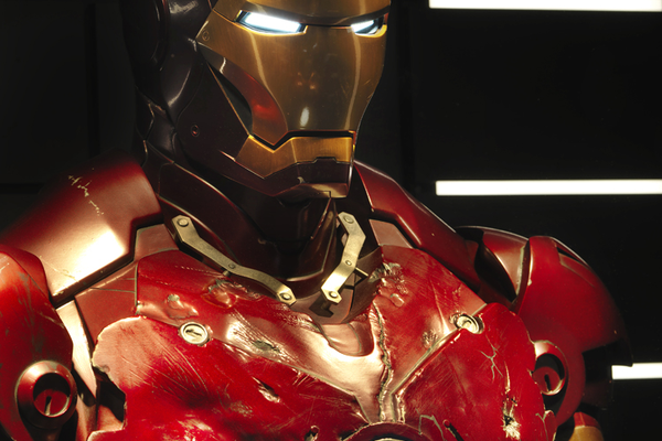 Mark III Iron Man armor from 'Iron Man' (2008)