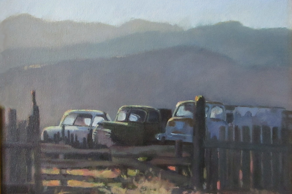 """Rush Hour in Scipio"" 11x14. (Courtesy of Beckie Rock)"