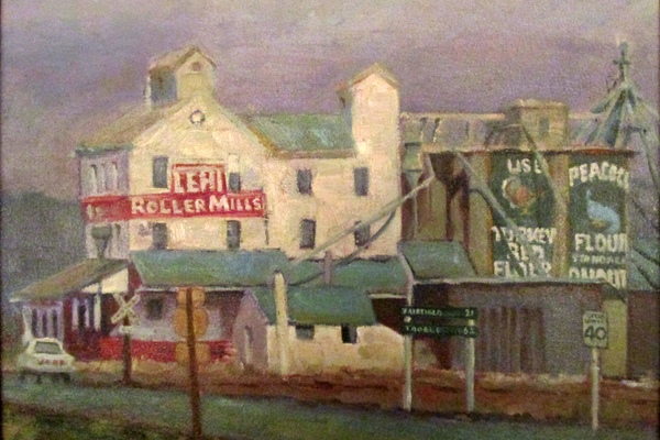 """Lehi Roller Mills."" (Courtesy of Beckie Rock)"
