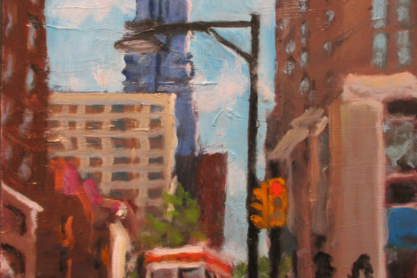 '19th & Walnut' by Ed Bronstein.