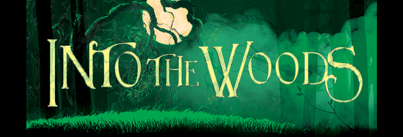 Dartmouth department of theater into the woods banner