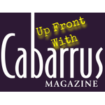 Up 20front 20with 20cabarrus 20magazine 20logo