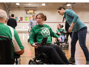 More than Just a Sport The Wheelers are the Upper Valleys First Power-Chair Soccer Team